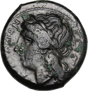 obverse: Central and Southern Campania, Neapolis. AE 20 mm, 275-250 BC