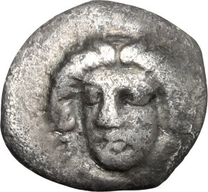 obverse: Central and Southern Campania, Phistelia. AR Obol, 325-275 BC