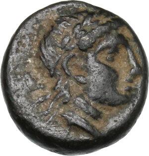 reverse: Troas, Kebren. AE 9 mm, 4th century BC