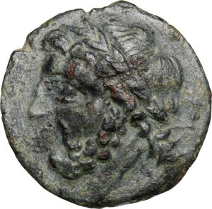 obverse: Northern Apulia, Arpi. AE 21 mm, 325-275 BC