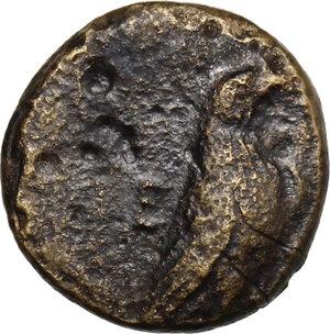 obverse: Aeolis, Kyme. AE 10 mm, 350-250 BC