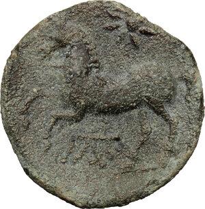 reverse: Northern Apulia, Arpi. AE 15 mm, 325-275 BC