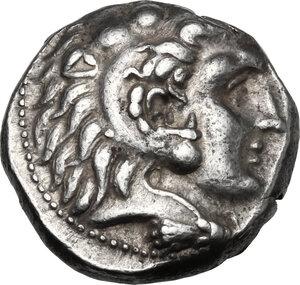 obverse: Syria, Seleucid Kings.  Seleukos I Nikator (312-281 BC).. AR Tetradrachm. Laodikeia mint, struck circa 300-281 BC