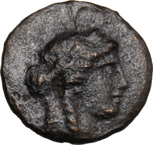 obverse: Syria, Seleucid Kings.  Antiochos I Soter (294-261 BC). AE Unit, Ecbatana mint