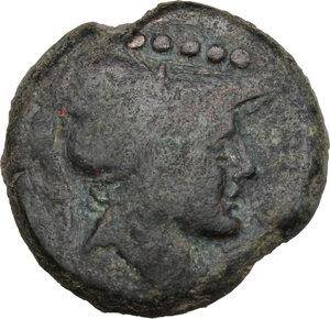 obverse: Northern Apulia, Luceria. AE Quincunx, c. 211-200 BC