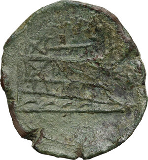 reverse: L series.. AE As, Luceria mint, 211-208 BC