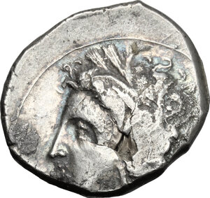 obverse: Southern Lucania, Metapontum. AR Stater, 330-290 BC