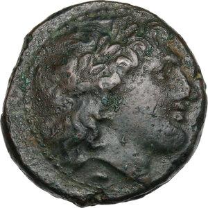 obverse: Bruttium, Nuceria. AE 21 mm, c. 300 BC