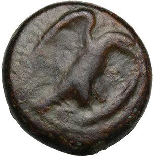 obverse: Akragas. AE Hexas, 425-406 BC