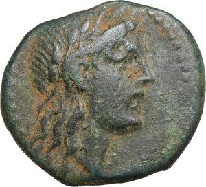 obverse: Akragas. AE 19 mm, 240-212 BC