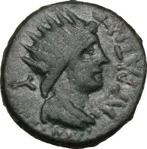 obverse: Entella.  Roman Rule. L. Sempronius Atratinus.. AE 21 mm, after 210 BC