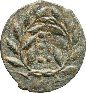 reverse: Himera. AE Hemilitron, before 407 BC