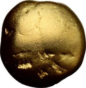 obverse: Celtic, Central Europe.  The Boii.. AV 1/3 or 1/4 stater, 1st century BC