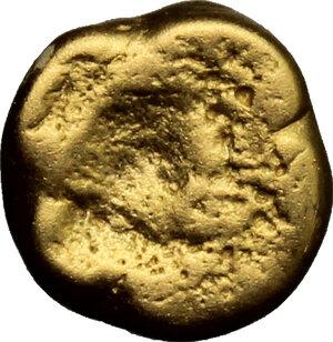 reverse: Celtic, Central Europe.  The Boii.. AV 1/3 or 1/4 stater, 1st century BC