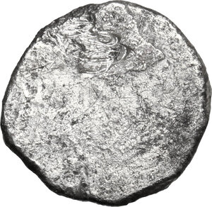 reverse: Etruria, Populonia. AR Diobol, late 4th-early 3rd century BC