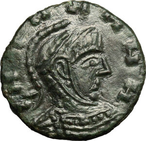 obverse: AE 17 mm, Barbaric imitation of a late Roman type of 4th century AD