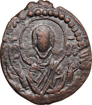reverse: Romanus IV (1068-1071).. AE Follis,Constantinople mint