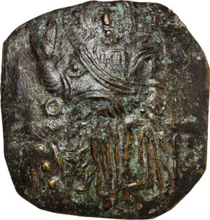 obverse: John III Ducas (1222-1254).. AV (debased) Hyperpyron, Empire of Nicaea, Magnesia mint, 1232-1254