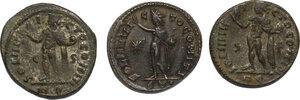 reverse: The Roman Empire.. Lot of 3 AE Follis, including: Constantine I and Licinius