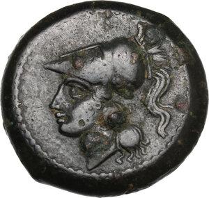 obverse: Samnium, Southern Latium and Northern Campania, Teanum Sidicinum. AE 20 mm, 265-240 BC