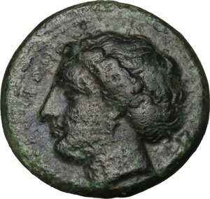 obverse: Syracuse.  Agathokles (317-289 BC).. AE 15 mm