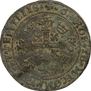 obverse: France.  Francis I (1515-1547).. AE Token, city council of Bourges