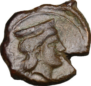 reverse: Thermai Himerenses. AE 16 mm, 407-406 BC