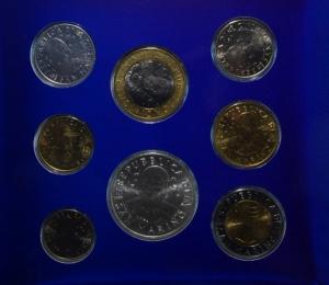 obverse: San Marino. Nuova monetazione. Serie 2000. In Confezione Originale. FDC