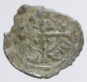 reverse: Zecche Italiane. Mantova. Comune. 1256-1328. Mezzo denaro. MI.RR. Bign.4. MB/BB.