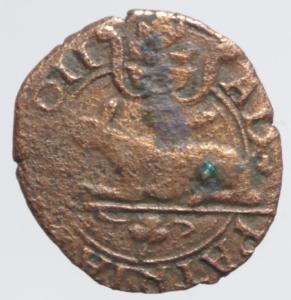 obverse: Zecche Italiane.Piacenza. Anonime (Sec. XVI). Quattrino. CNI 36 (Adriano VI). M. 6. Berm. 791. MI. g. 0.80 BB.