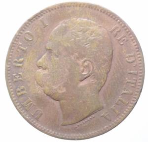 reverse: Casa Savoia. Umberto I. 10 Centesimi 1893. ROMA. Peso 10,00 gr. Diametro 30 mm. Pagani 613.BB. R.