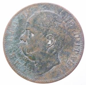 reverse: Casa Savoia . Umberto I (1878-1900). 10 centesimi 1894 Roma. Pag. 613. CU. R.BB.