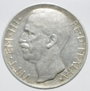 obverse: Casa Savoia. Vittorio Emanuele III. 10 Lire 1927 Biga. Peso 9,86 Diametro 27,21 mm. BB+. NC.