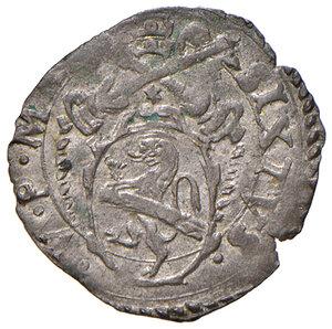 obverse: Montalto. Sisto V (1585-1590). Baiocco MI gr. 1,03. Muntoni 133 var. Berman 1385. MIR 1381/1. Raro. q.SPL