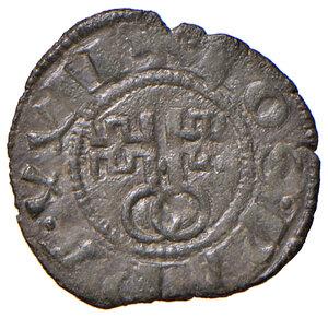 obverse: Montefiascone. Giovanni XXII (1316-1334). Denaro paparino MI gr. 0,55. Muntoni 5. Berman 173. MIR 188/1. Raro. Buon BB