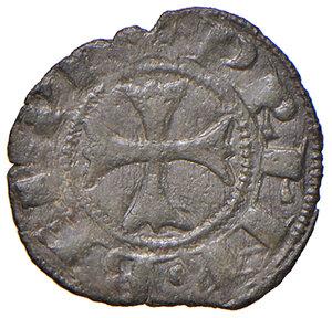 reverse: Montefiascone. Giovanni XXII (1316-1334). Denaro paparino MI gr. 0,55. Muntoni 5. Berman 173. MIR 188/1. Raro. Buon BB