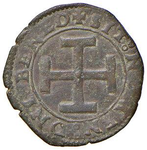 reverse: Napoli. Federico III d'Aragona (1496-1501). Sestino AE gr. 2,05. P.R. 11. MIR 109. Vall-Llosera i Tarres 328b. q.SPL
