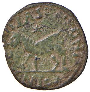 reverse: Napoli. Federico III d'Aragona (1496-1501). Cavallo AE gr. 2,08. P.R. 21. MIR 110/3. Vall-Llosera i Tarres pag. 446, EI/b1. Estremamente raro. Esemplare particolarmente ben conservato, q.SPL