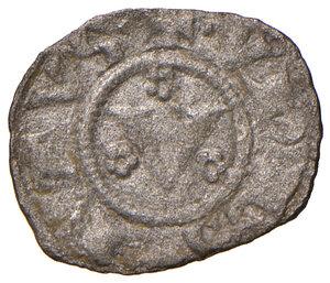 obverse: Orvieto. Repubblica autonoma (1256-1265). Denaro MI gr. 0,52. CNI 2. Rarissimo. Buon BB