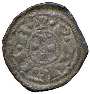 obverse: Parma. Repubblica (1248-1322). Monete battute nel 1322. Piccolo o torellino MI gr. 0,51. CNI 16. MIR 907. Molto raro. Buon BB