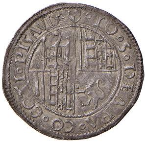 obverse: Pesaro. Giovanni Sforza (1489-1500 e 1503-1510). Grosso AG gr. 2,05. CNI 33. Cavicchi PS, 74.  Patina di medagliere, q.SPL