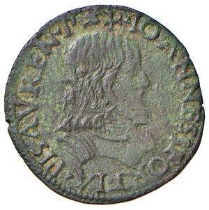 obverse: Pesaro. Giovanni Sforza (1489-1500 e 1503-1510). Soldo AE gr. 1,57. CNI 98/117. Ravegnani Morosini 9. Cavicchi PS, 104.  BB
