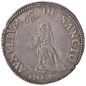 reverse: Pesaro. Francesco Maria II della Rovere (1574-1624). Paolo AG gr. 3,13. CNI 14/58. Cavicchi PS, 151. Patina di medagliere, migliore di BB