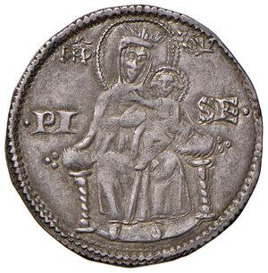 reverse: Pisa. Repubblica. Emissioni a nome di Federico I (1155-1312). Aquilino maggiore AG gr. 3,26. CNI 20/23. MIR 395 (1255-1257). Molto raro. Migliore di BB