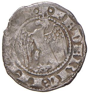 obverse: Pisa. Repubblica. Emissioni a nome di Federico II (1313-1406). Grossetto (1316-1325) AG gr. 1,01. CNI 67/70 (bianco). MIR 411/2. Estremamente raro. BB
