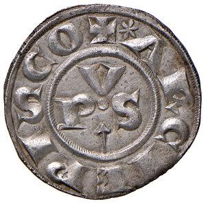 obverse: Ravenna. Anonime arcivescovili (sec. XIV). Grosso AG 1,65. Di Virgilio 4. MIR 1248 var.  Raro. q.SPL
