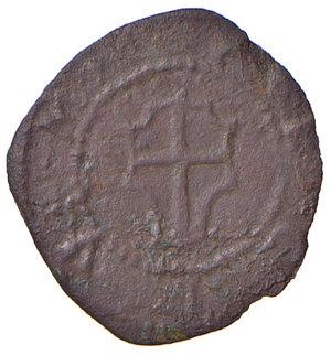 obverse: Reggio Emilia. Emissioni anonime attribuite ad Alfonso I d Este (I periodo: 1505-1512). Bagattino MI gr. 0,73. CNI 1/10. MIR 1280. Molto raro. BB