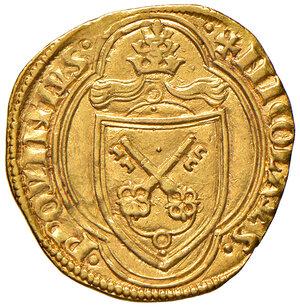 obverse: Roma. Niccolò V (1447-1455). Ducato papale AV gr. 3,50. Muntoni 4. Berman 326. MIR 329/2. SPL/q.SPL