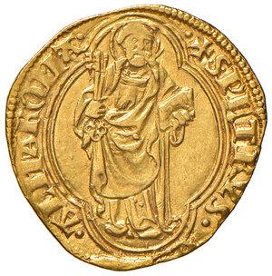 reverse: Roma. Niccolò V (1447-1455). Ducato papale AV gr. 3,50. Muntoni 4. Berman 326. MIR 329/2. SPL/q.SPL