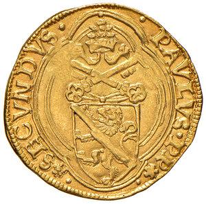 obverse: Roma. Paolo II (1464-1471). Ducato papale AV gr. 3,48. Muntoni 16. Berman 401. MIR 404/1. q.SPL